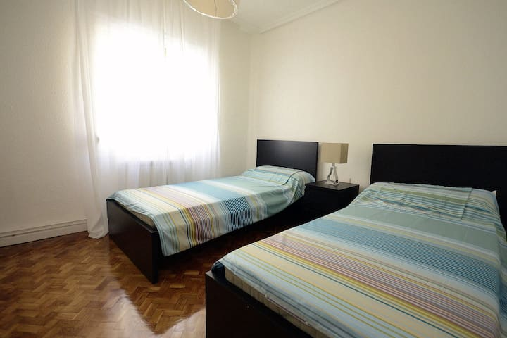Bright confortable flat Pamplona - Pamplona - Daire
