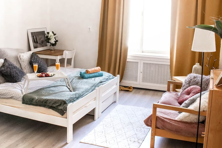 LOVELY ROOM in apartment near center of Prague