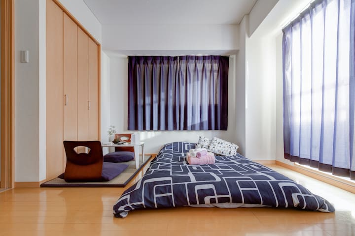 道頓堀!!難波駅2分!好立地!3-1 - Ōsaka-shi - Apartment