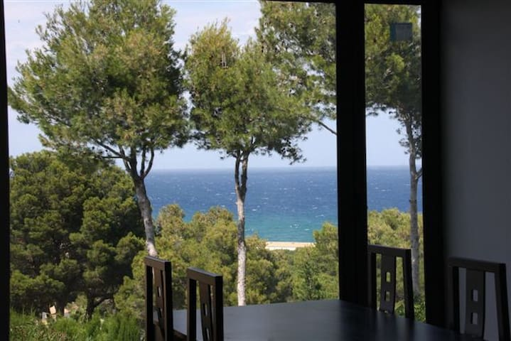 Beautiful Sea view apartm with pool EASTSIDE, WiFi - Pals (platja) - Flat