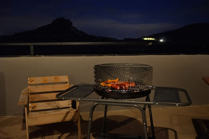 Barbecue on the terrace