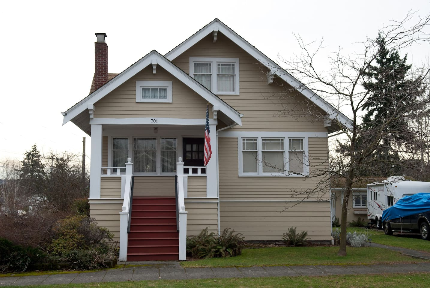 Craftsman style home built 1918