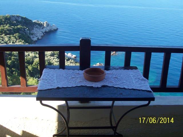 Διαμερισμα Τριων ατομων στον μαγευτικο Μυλοποταμο - Volos - Apartamento