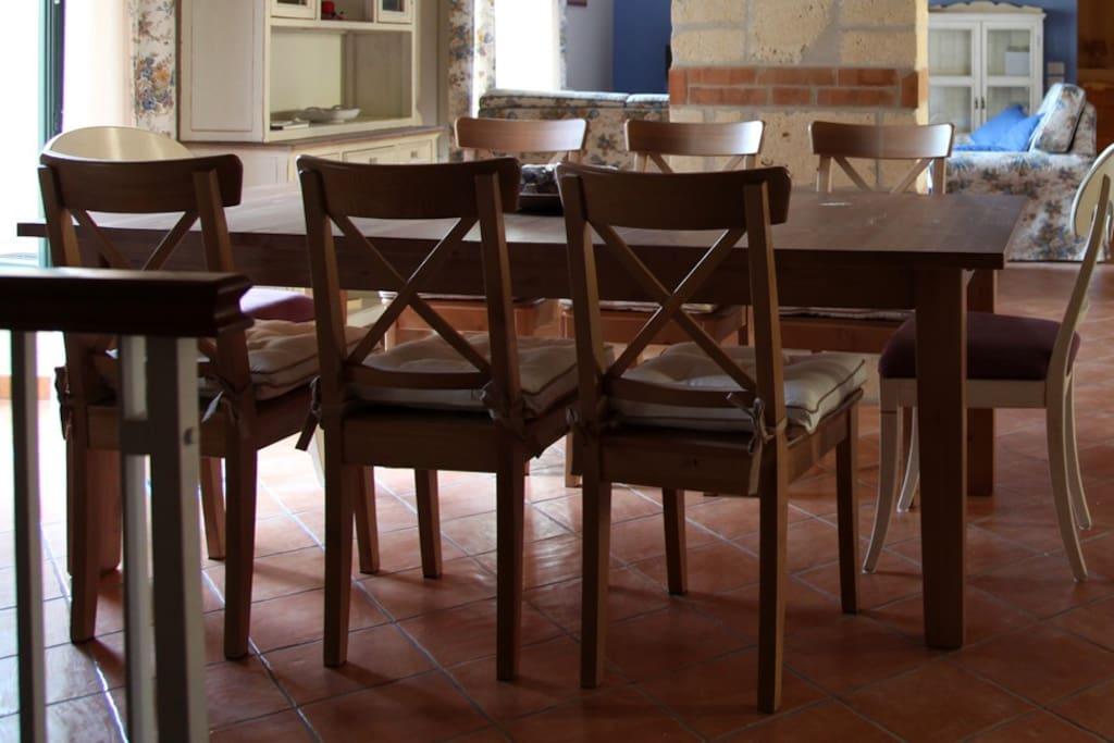 "Suite ""Ravello"": Area Pranzo"