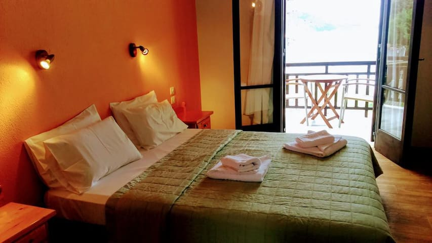 Double Hotel Room with Sea view