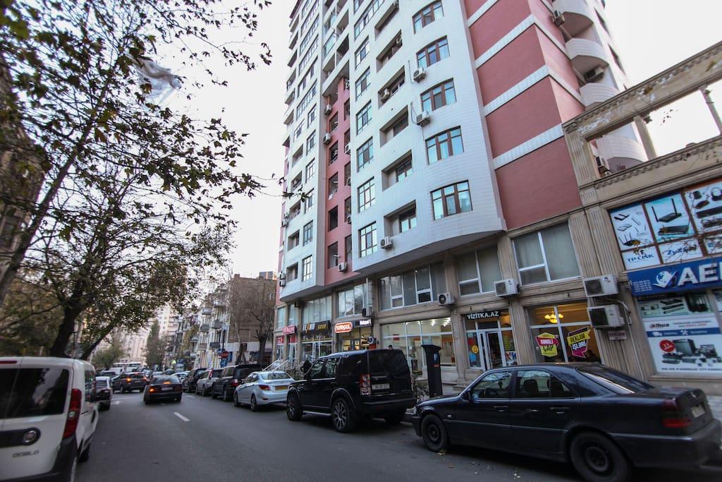 Suleyman Rustam street
