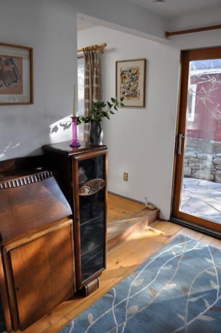 Entrance hallway with antique desk