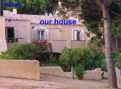 Bella casa spiaggia sul mare  - Palau - Haus