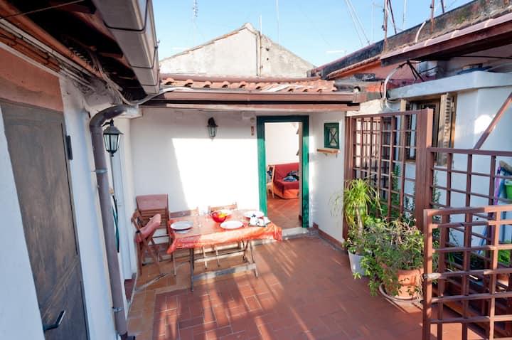 Attic Sannio with terrace
