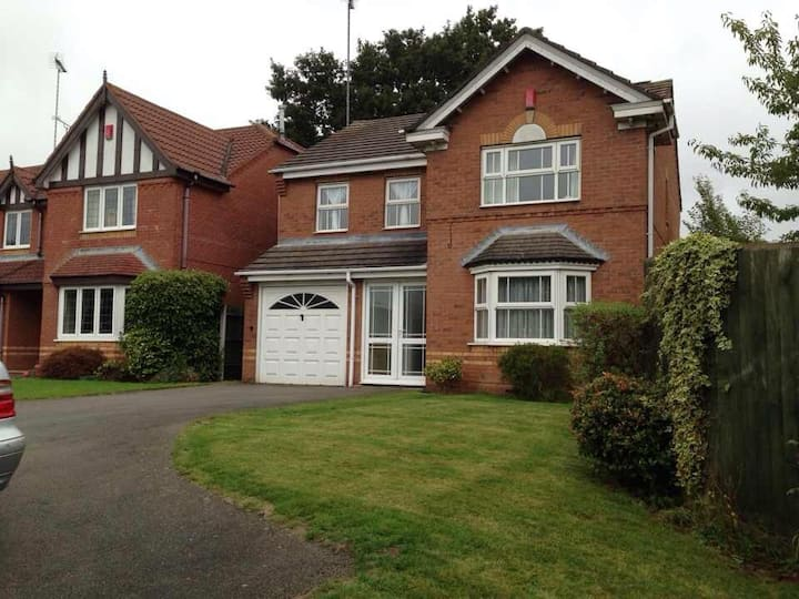 Charming Double bed in detached