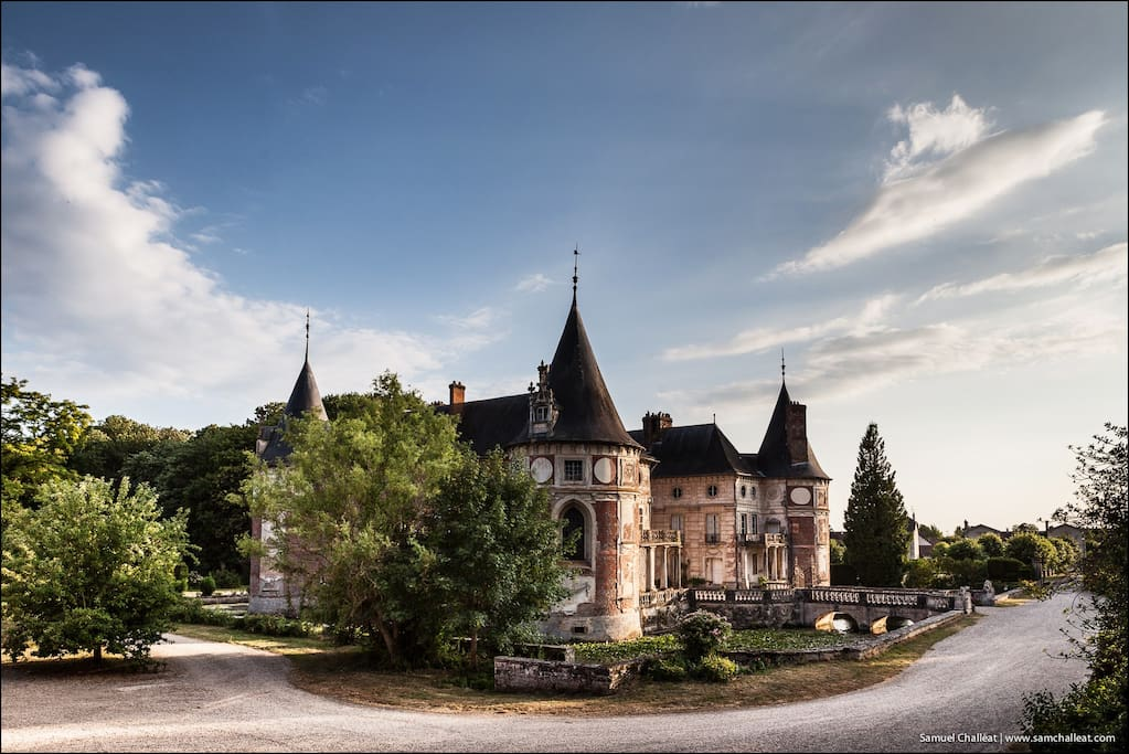 Chateau longecourt charles ix chambres d 39 h tes louer for Chambre d hote burgundy
