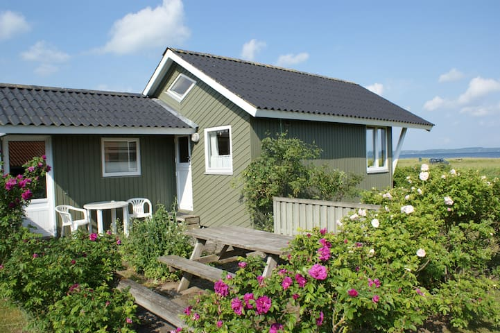 Beachfront holiday house at Varbjerg Strand