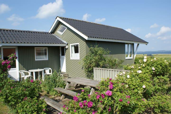 Panoramaudsigt over Båring Vig. - Brenderup - Hytte