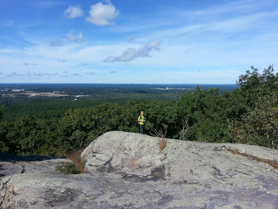 Cathedral Ledge, great hike for kids