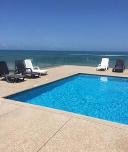 Suite frente al mar, en el Makana Resort, Tonsupa
