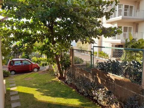 Bay View Garden Villa with Peaceful & Quiet 1-BHK