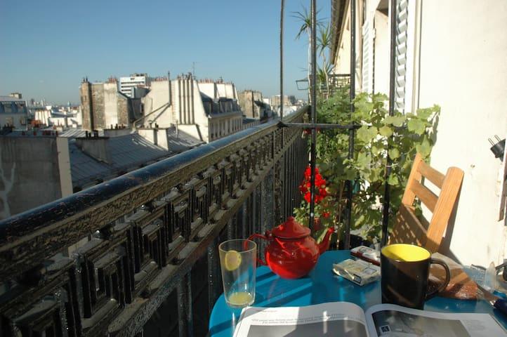 Le balcon du Faubourg