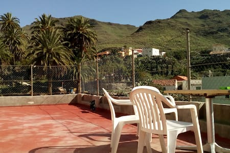 Apartment with double room and terrace in Tasarte - Las Palmas