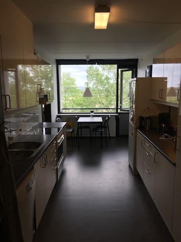 Værelse i stor lejlighed i Århus V. Incl cykel