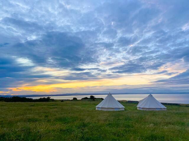 Kinkell Farm Bell Tents, St Andrews, Tent 2