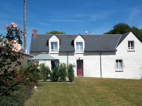 Ancienne Grange pour Famille Orléans - Chambord