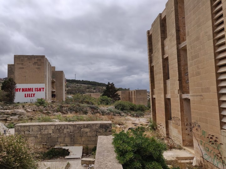 A former guest resort, turned into ruins