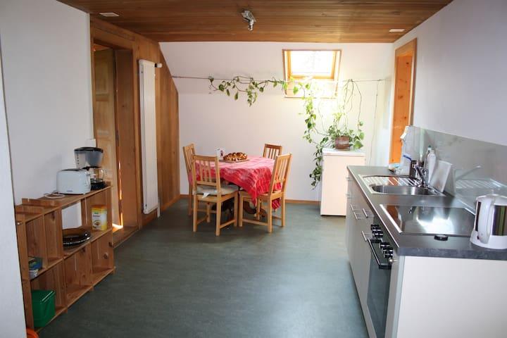Grosse Wohnung mit fantastischer Bergsicht - Längenbühl - Apartamento