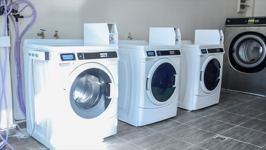 A laundry room is available on-site for guest use at any time