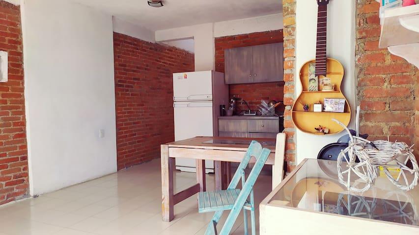 Departamento Centro de Tepotzotlán (1 habitación)