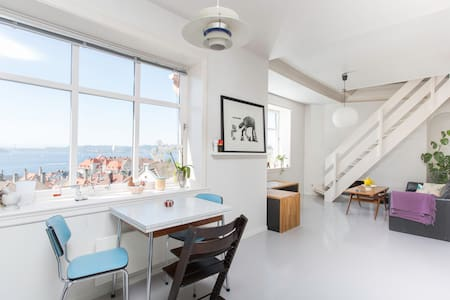 Apartment with amazing view - Берген - Квартира