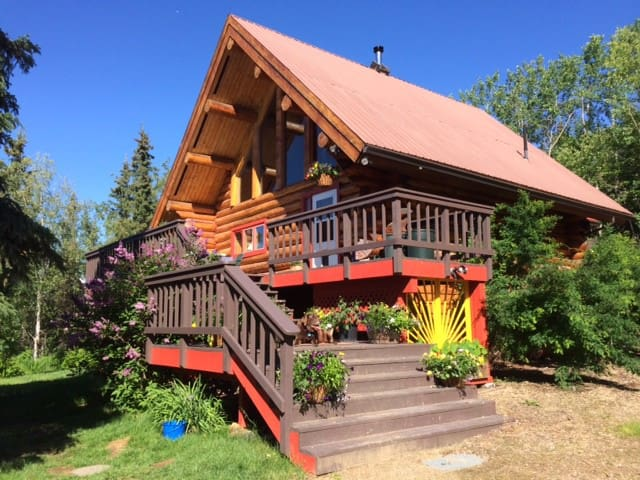 Beautiful Log Home, Interior Alaska - Fairbanks - House