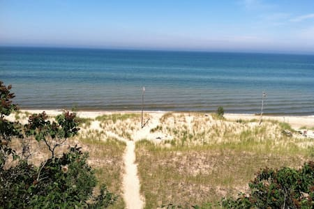 Lake Michigan Beach Cabin, Dunes !! - Stuga