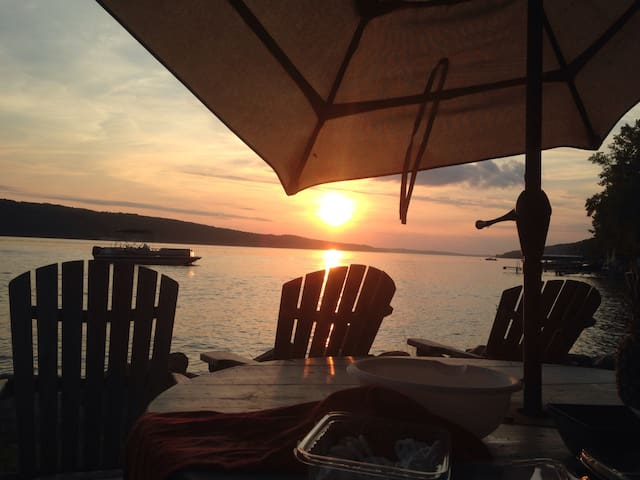 Awesome Sunsets! - Skaneateles Lake - Skaneateles - Cabaña