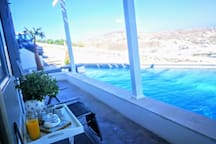 Outdoor area -pool view