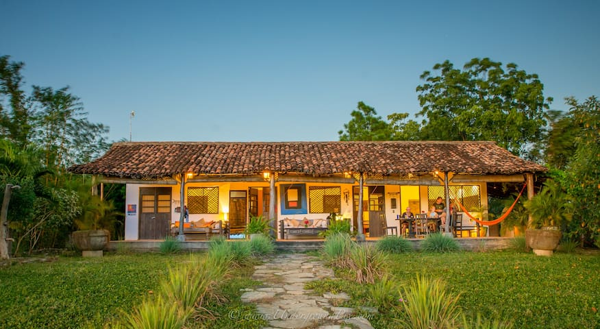 Popoyo ocean view beach house. - Popoyo - House