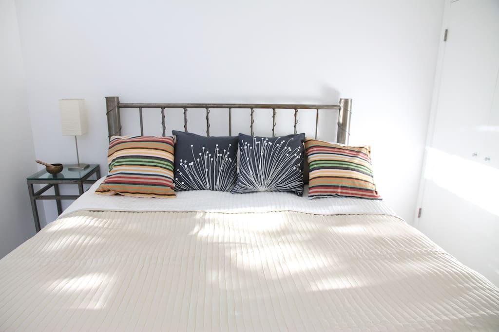 California King - organic futon