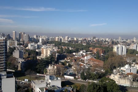 Lovely sunny 18th floor bedroom - Buenos Aires - Daire
