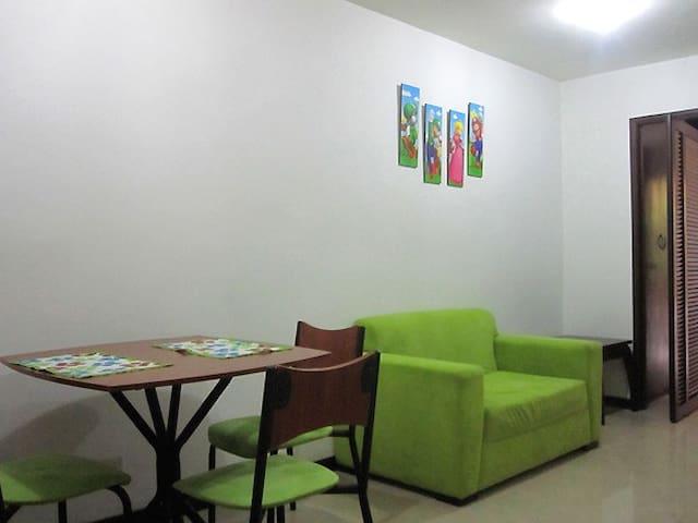 Apartment fully furnished,center-22 - Santiago de Cali - Lejlighed