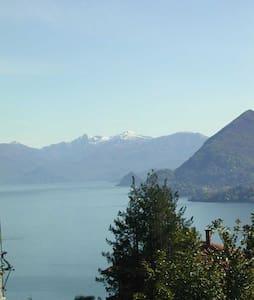 beautiful lake and mountain view - Stresa