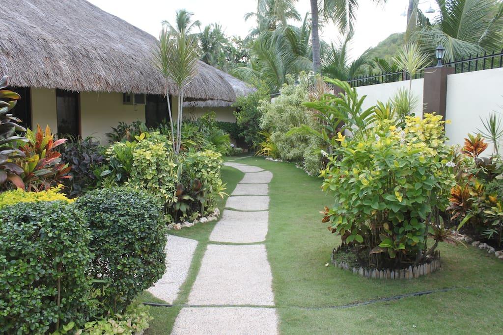 Chiisai Natsu Resort: Main Entrance