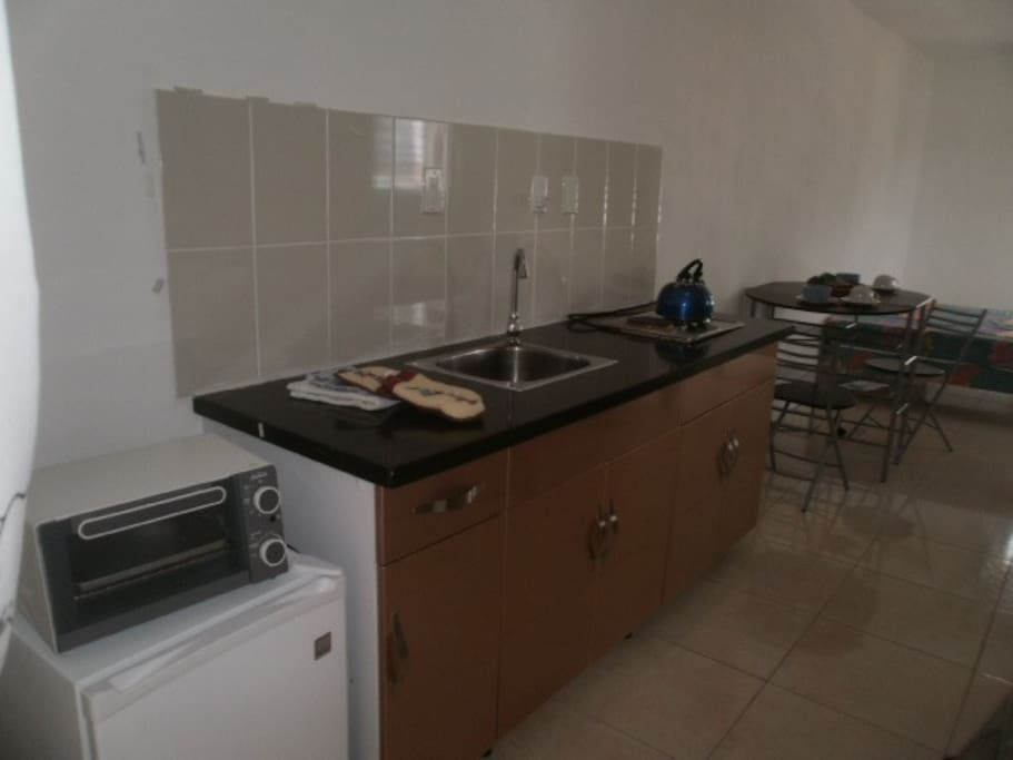 All rooms have their own kitchenette with cooking facilities