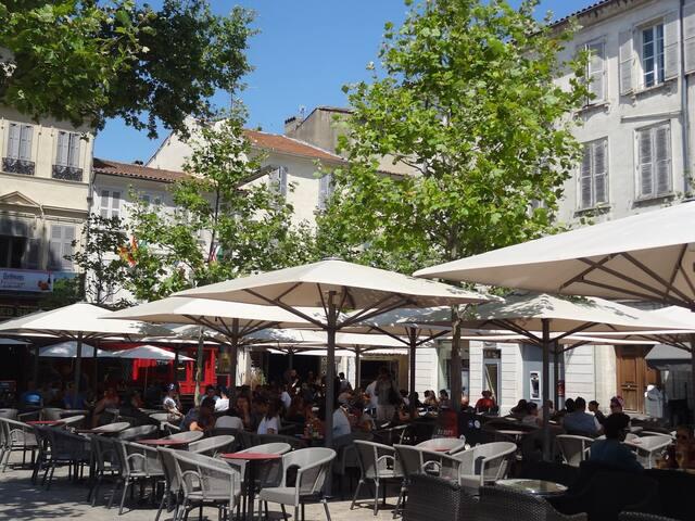charme neuf/ancien ultra centre - Avignon - Wohnung