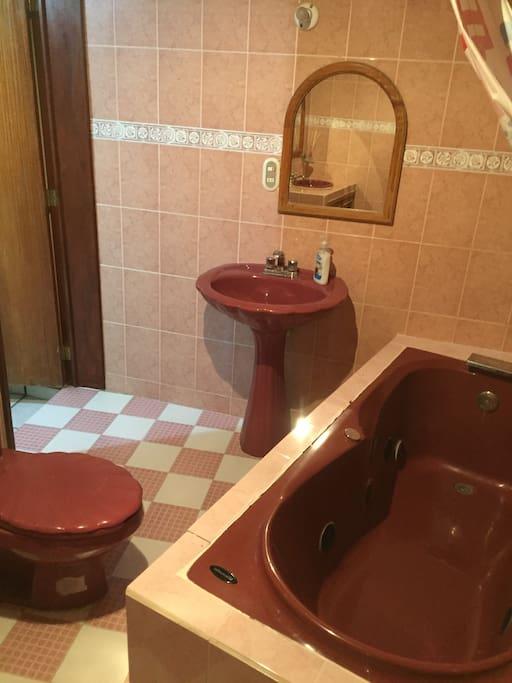 Baño para uso exclusivo de huéspedes