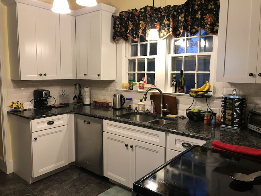 Kitchen is updated and loaded!