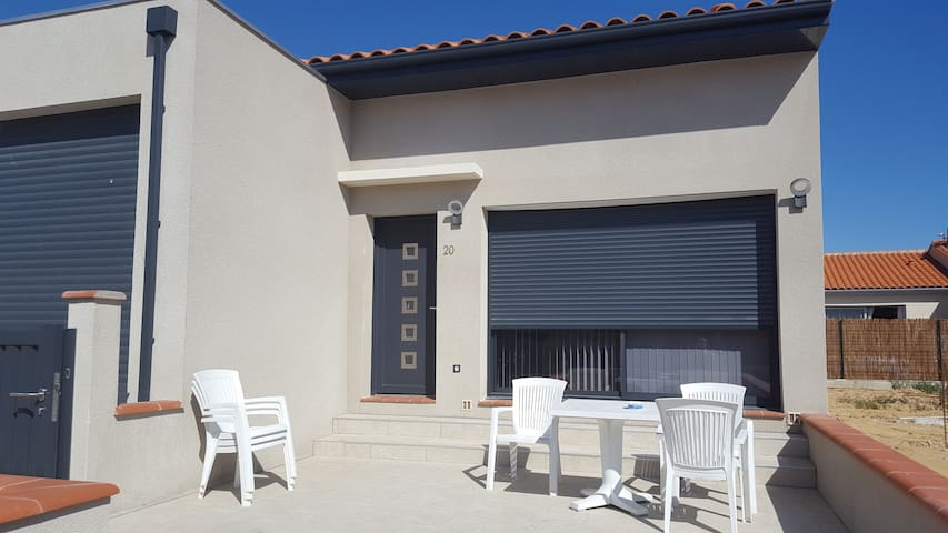 Maison dans quartier calme