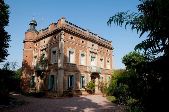 Château XIXc, close Toulouse  - Fenouillet, Haute-Garonne - Slott