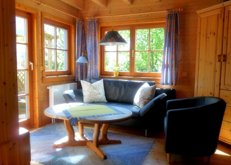 das holzhaus urlaub am meer app1 appartamenti in affitto a gr mitz schleswig holstein. Black Bedroom Furniture Sets. Home Design Ideas