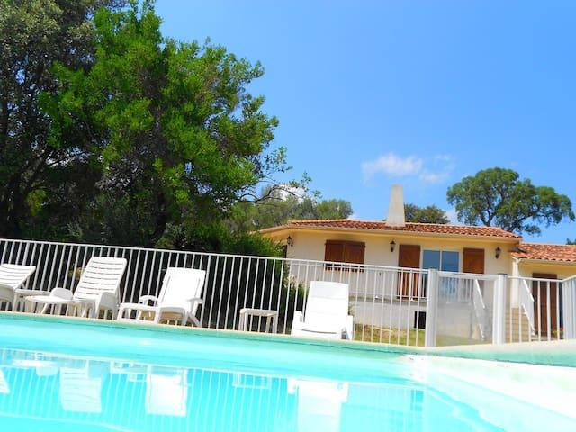 Villa avec piscine proche plages