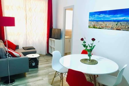 Modern flat 500m from the beach in Poblenou, 22@