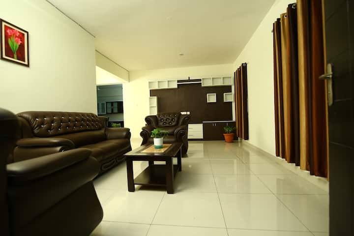 Elegant 3bhk in hitech city